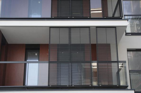 Sun Shading Louvers | Louver Aluminium Blades for Export