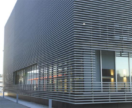 Facade Louver | Steel and Glass Louvers for Sale at Cheap Price
