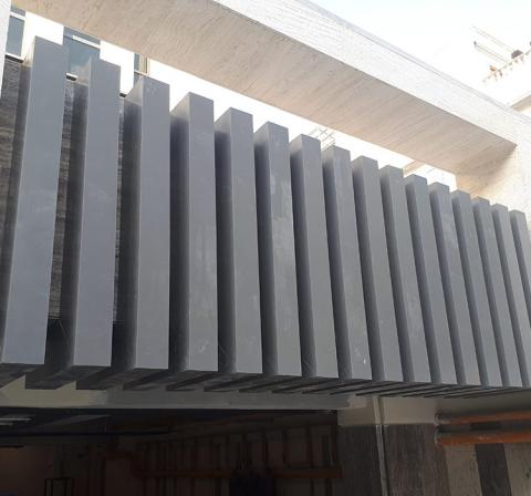 Louver facade suppliers and manufacturers in Iran