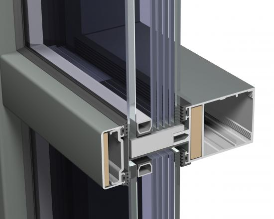 Famous aluminium curtain wall profile Manufacturers